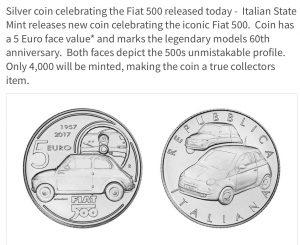 500 300x245 Coins & Cars