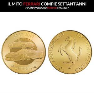 FERRARI 300x298 Coins & Cars
