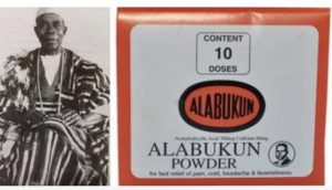 ALABUKUN 300x172 The Nigerian Pharmacist Who Invented Alabukun Drug 100 Years Ago