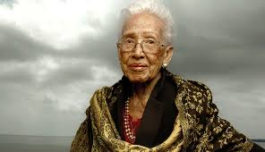 K. Johnson Happy 100th birthday Ms. Katherine Johnson